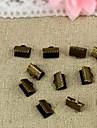 포도 수확은 청동 10mm 버클 커넥터 (20 개 세트)