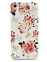 Peony Rose Flower Pattern Hard Case for iPhone 4/4S