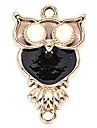 liga coruja diy encantos pingentes para pulseira&colar