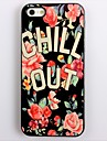 CHILL OUT Design Aluminum Hard Case for iPhone 5/5S
