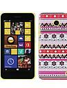Dificil Xmas Case plastico para Nokia Lumia 630
