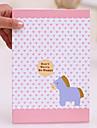 1 шт Большой размер и портативный мультфильм Бумага Folding Пакет Принцесса Зеркало
