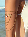 여성 참 팔찌 유니크 디자인 의상 보석 패션 합금 드롭 보석류 보석류 제품 파티 일상 캐쥬얼
