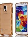 natusun ™ yksivärinen luotiliivit TPU pehmeä kotelo Samsung S5 i9600