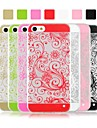 Angibabe Flower Vine Pattern Ultra Thin Acrylic and TPU Clear Transparent Case for iPhone 5/5S (Assorted Colors)