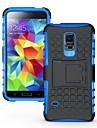2 i 1 tofarvet aftagelig PC + TPU hybrid tilfældet med stander til Samsung Galaxy s5 mini sm-G800 (assorterede farver)
