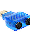 USB 2.0 Male to PS/2 Adapter