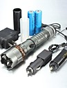 LED Flashlights/Torch / Handheld Flashlights/Torch LED 1000/1200/2000 Lumens 5 Mode XM-L2 T6 18650 / AAAAdjustable Focus / Waterproof /