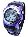 Men\'s Sporty  Digital Silicone Band Wrist Watch