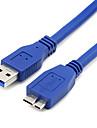 0,3 0.984ft micro3.0 usb3.0 кабельной линии для мобильных жестких дисков USB и бесплатной доставкой