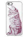 Design elegante Cat modello rigido in alluminio per iPhone 4/4S