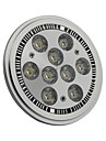 9W G53 LED Spot Lampen AR111 9 High Power LED 990LM lm Kuehles Weiss AC 85-265 V