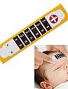 enfant bande bébé enfant adulte la température chèque de test de fièvre froid front