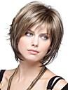 여성 여성 짧은 합성 머리 가발
