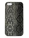 아이폰 4 / 4S를위한 뱀 피부 디자인 패턴 하드 케이스
