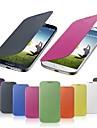 caso classico couro pu para Samsung Galaxy S4 mini-9190