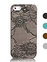 Pour Coque iPhone 5 Motif Coque Coque Arriere Coque Couleur Pleine Dur Cuir PU iPhone SE/5s/5