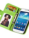 Soft Touch Wallet PU Leather Case for Samsung Galaxy S4 MINI I9190