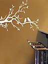 ботанический Романтика Натюрморт Мода Пейзаж Наклейки Простые наклейки Декоративные наклейки на стены материал Влажная чистка Съемная