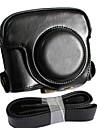 cuir dengpin® sac amovible couvercle de protection de cas d\'appareil photo style avec bandouliere pour Canon Powershot G16