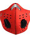 FJQXZ Moto/Ciclismo Mascara Facial Unissexo Secagem Rapida / A Prova-de-Po / A Prova de Vento Grade Vermelho / Preto / Azul / Laranja