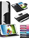 Leather Wallet Case Flip Leather Stand Cover with Card Holder for Samsung S3 I9300