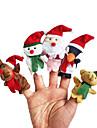 Пальцевая кукла Игрушки Мультяшная тематика Хобби и досуг Для мальчиков Для девочек Текстиль