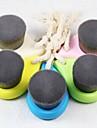 zachte gezichtsreiniging borstel diepe porien schoon bamboe houtskool vezels gezichtsverzorging borstel