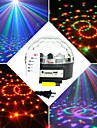 6x3W RGB-LED-mp3 dj Club Disco Party Kristall magische Kugel Buehne Laserlicht (ac100-240v)