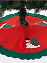 90cm tablier arbre du Père Noël (de couleur assortie)