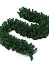 2.7M 녹색 색깔 크리스마스 장식 플라스틱 등나무