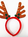 벨의 머리 헤드 밴드와 함께 크리스마스 파티 귀여운 사슴 뿔 모자