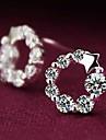 Earring Star Stud Earrings Jewelry Women Wedding / Party / Daily / Casual Sterling Silver