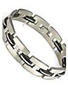 Муж. Браслеты-цепочки и звенья Нержавеющая сталь Уникальный дизайн Мода Бижутерия Черный Бижутерия 1шт