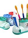 Подставки для зубных щеток Для душа Пластик Многофункциональный / Экологически чистый / Подарок
