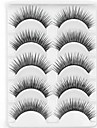 New 5 Pairs Natural Black Long Thick False Eyelashes Tender Eyelash Eye Lashes for Eye Extensions