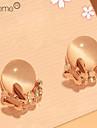 Lureme®Butterfly Crystal Opal Stud Earring