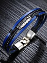 Fashion Personality Leather Woven Men's Bracelet Christmas Gifts