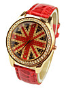 Women\'s Fashion Diamante Union Jack Watches(Assorted Colors) Cool Watches Unique Watches
