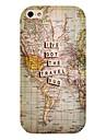 mapa de viagem padrao de volta caso para iPhone 4 / 4S