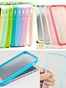 Pour Coque iPhone 5 Depoli Coque Coque Integrale Coque Couleur Pleine Flexible PUT pour iPhone SE/5s/5