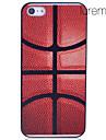 Basketball cas de dos d'impression pour iPhone 5/5S