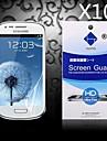 삼성 갤럭시 S4 미니 i9190에 대한 먼지 흡수와 HD 화면 보호기 (10 개)