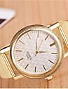 Women's Fashion Circular Alloy  Quartz Watch Cool Watches Unique Watches