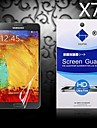HD Screen Protector with Dust-Absorber for Samsung Galaxy Note 3 (7 PCS)