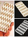 Wave Pattern Transparent Back Case for iPhone 6