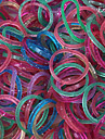 Eruner®(600 pcs/pack)Loom Bands Style Rubber Band with 12pcs S Hook and 1pcs Crochet Hook