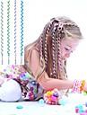 6Pcs 24cm Blue Children\'s Curly Hair Rope