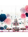 12-дюймовый папиросной бумаги пом Англичане свадьба декор крафт-бумаги цветы свадьба (набор из 4)