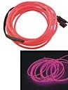 Авто длина 2 м 2,3 мм, диаметр гибкой эль проволоки неоновое свечение полосы rope- (12)